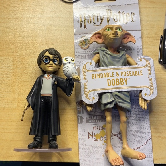 Harry Potter Rock Candy and Dobby Figure